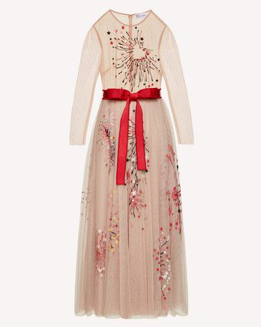 REDValentino TRCVA14Q56W 377 Long and midi dresses Woman a