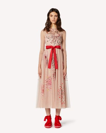 REDValentino TRCVA14Q56W 377 Long and midi dresses Woman f