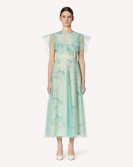 REDValentino Long and midi dresses Woman TR3VAK964SN I38 f