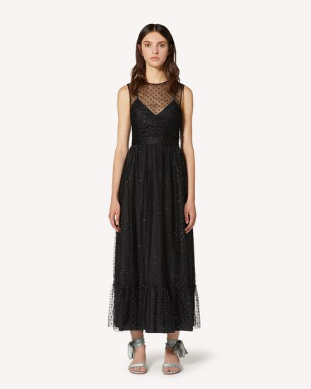 REDValentino Long and midi dresses Woman TR3VAL004RL 0NO f
