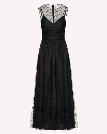 REDValentino TR3VAL004RL 0NO Long and midi dresses Woman a