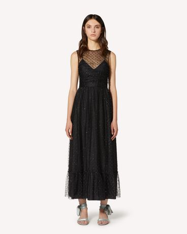 REDValentino TR3VAL004RL 0NO Long and midi dresses Woman f