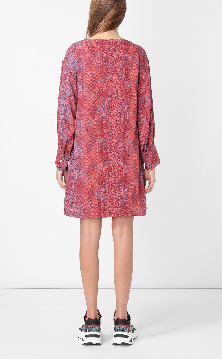 JUST CAVALLI Python-print dress Dress Woman a