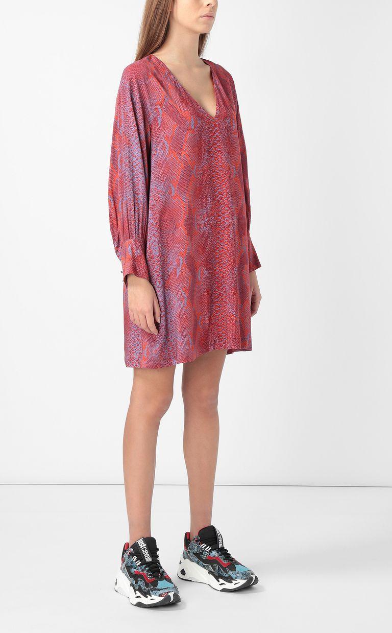 JUST CAVALLI Python-print dress Dress Woman d