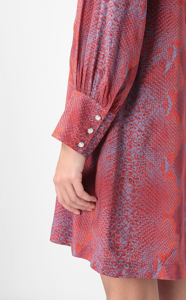 JUST CAVALLI Python-print dress Dress Woman e