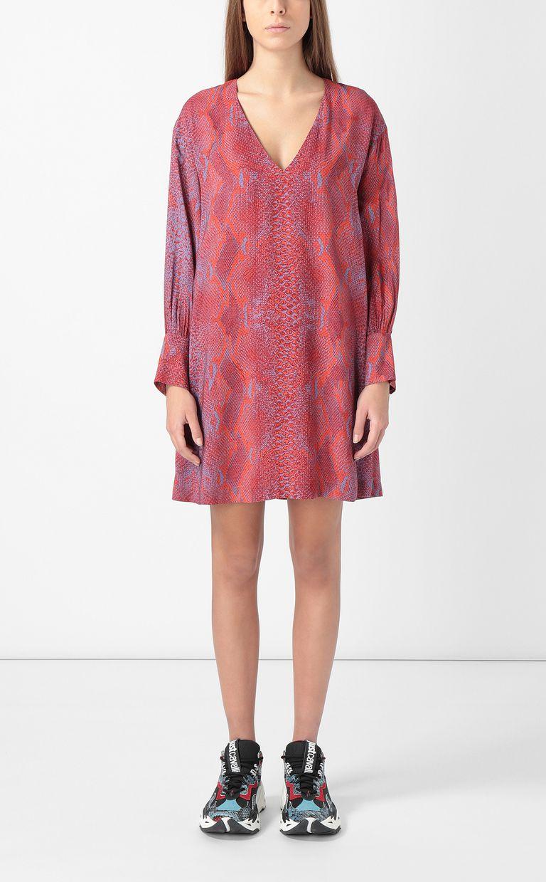 JUST CAVALLI Python-print dress Dress Woman r