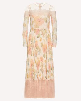 REDValentino Long and midi dresses Woman TR3VAL004RL 0NO a