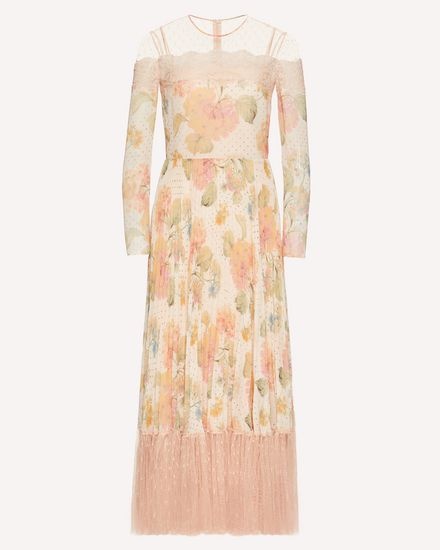 REDValentino Long and midi dresses Woman TR3VAK404SL R13 a