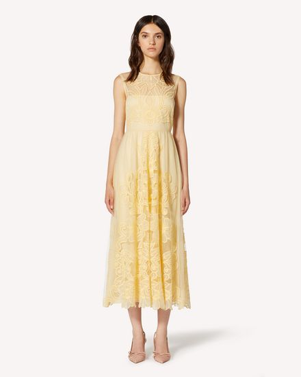 REDValentino Long and midi dresses Woman TR3VA10Y4T5 AD6 f