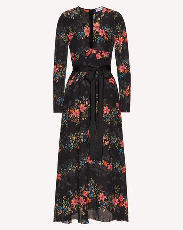 REDValentino TR3VAN504RV 0NO Long and midi dresses Woman a