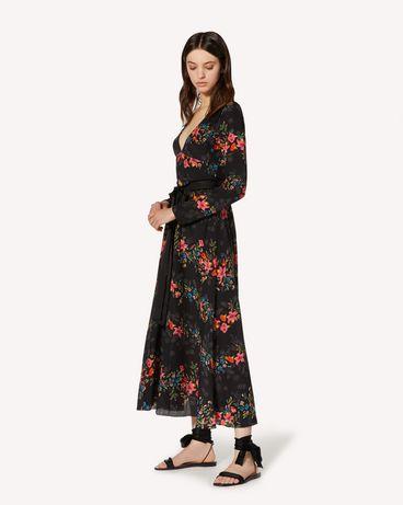 REDValentino TR3VAN504RV 0NO Robe longue et robe midi Femme d