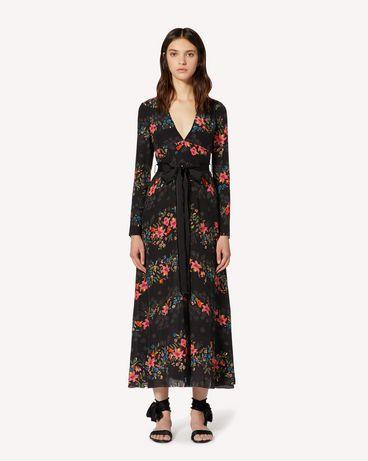 REDValentino TR3VAN504RV 0NO Robe longue et robe midi Femme f