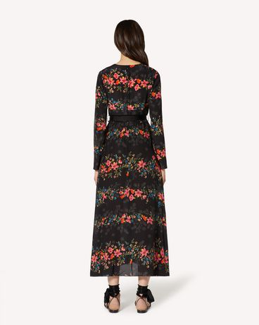 REDValentino TR3VAN504RV 0NO Robe longue et robe midi Femme r