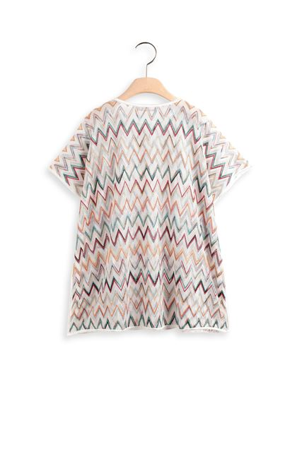 MISSONI KIDS Kaftan White Woman - Front