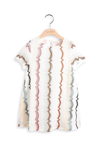MISSONI KIDS Dress Ivory Woman - Back