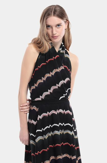 MISSONI Dress Black Woman - Front