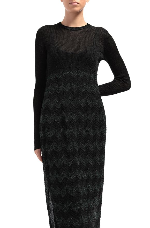 M MISSONI Long dress Woman, Rear view