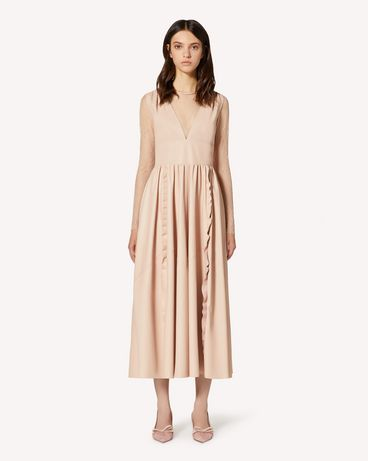 REDValentino TR3ND00F4TK 377 Long and midi dresses Woman f