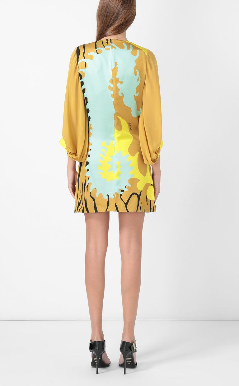 "JUST CAVALLI Dress with ""Seahorse"" print Dress Woman a"