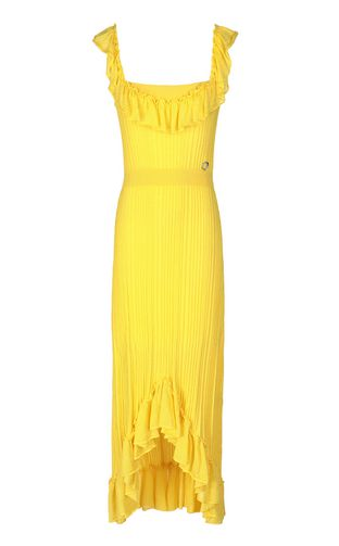 JUST CAVALLI Dress Woman Knitted dress with ruffles f