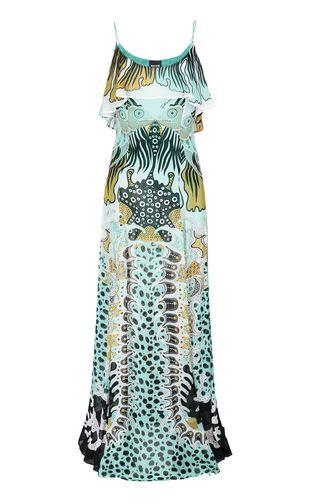 """JUST CAVALLI Long dress Woman """"Genesis""""-print dress f"""