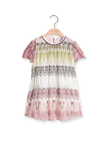 MISSONI KIDS Dress White Woman - Back