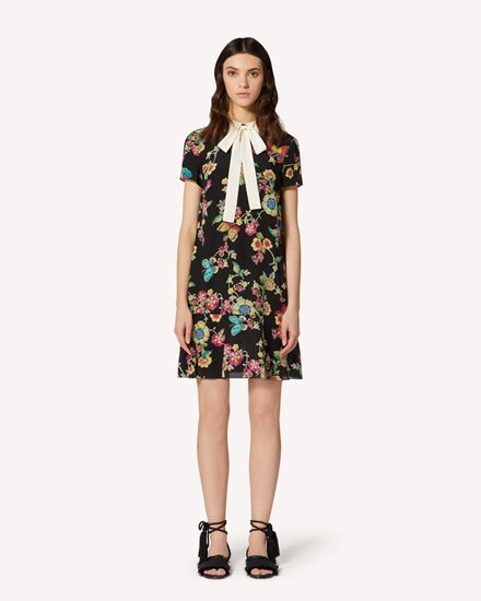 REDValentino Kurzes Kleid Dame TR0VAF05515 0NO f