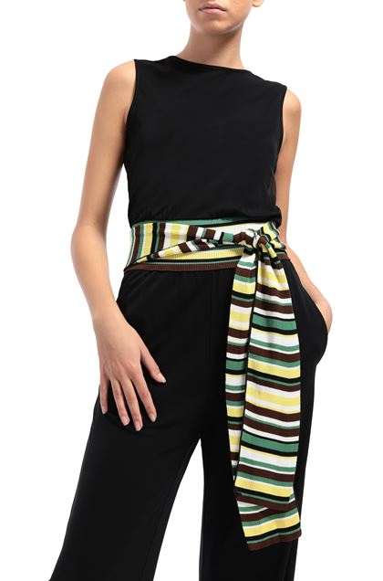 M MISSONI Jumpsuit Black Woman - Front