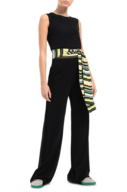 M MISSONI Jumpsuit Black Woman - Back