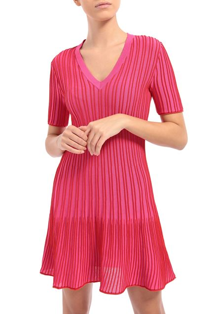 M MISSONI Dress Fuchsia Woman - Front