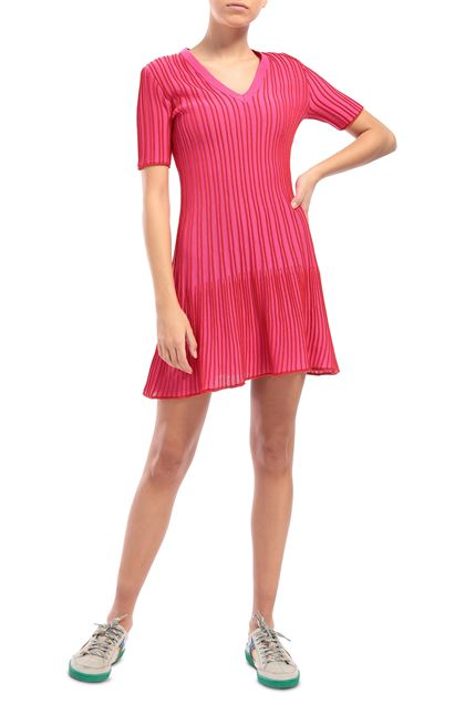 M MISSONI Dress Fuchsia Woman - Back