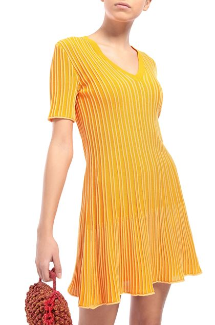 M MISSONI Dress Peach Woman - Front