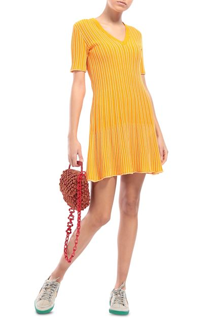 M MISSONI Dress Peach Woman - Back