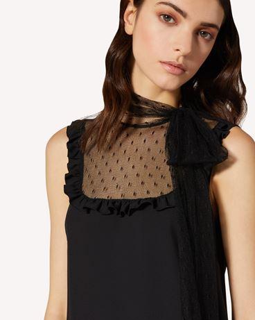 REDValentino TR0VAP900WB 0NO Short dress Woman e