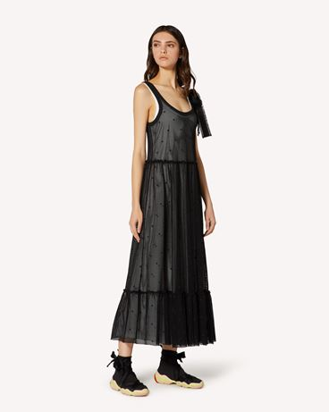 REDValentino TR0MJ03Q54C 0NO Long and midi dresses Woman d