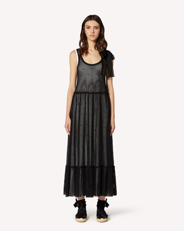 REDValentino TR0MJ03Q54C 0NO Long and midi dresses Woman f