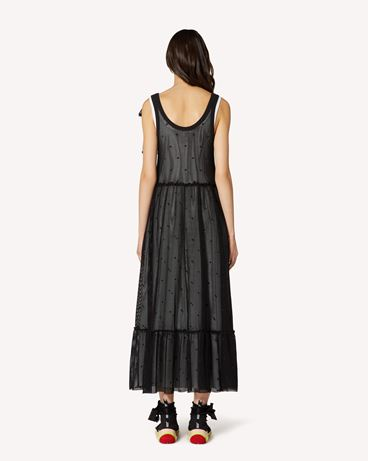 REDValentino TR0MJ03Q54C 0NO Long and midi dresses Woman r