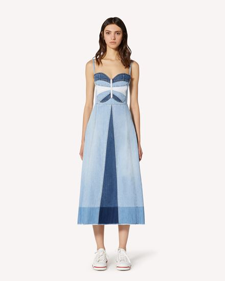 REDValentino Long and midi dresses Woman TR0DA00F53U LDM f