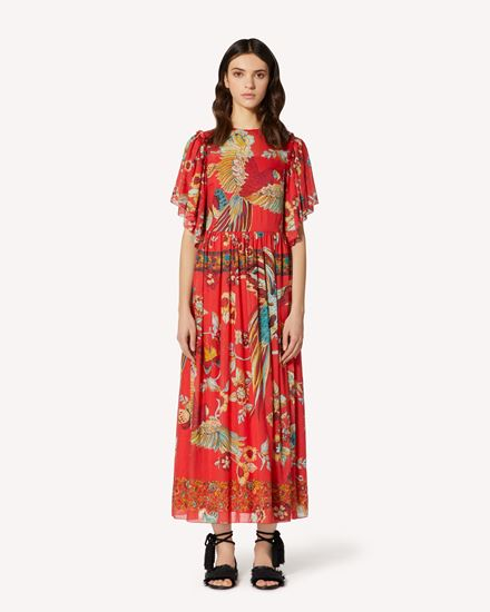 REDValentino Long and midi dresses Woman TR0VAP65503 R47 f