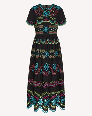REDValentino TR0VA12B51E N78 Long and midi dresses Woman a