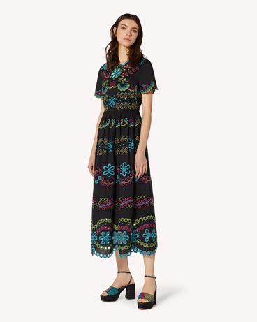 REDValentino TR0VA12B51E N78 Long and midi dresses Woman d