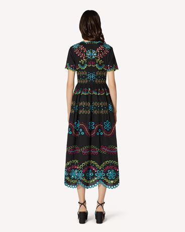 REDValentino TR0VA12B51E N78 Long and midi dresses Woman r