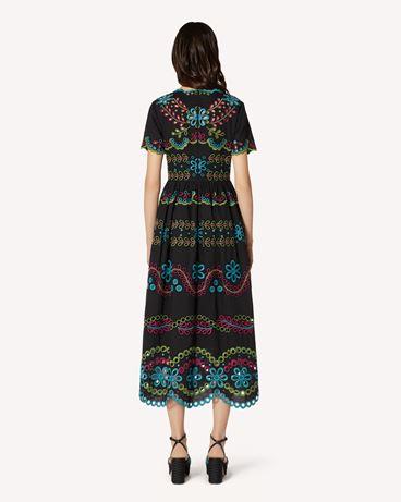 REDValentino TR0VA12B51E N78 Long and midi dresses Woman r