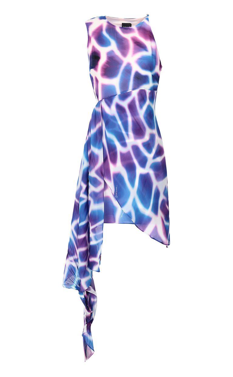 """JUST CAVALLI Dress with """"Water Giraffe"""" print Dress Woman f"""