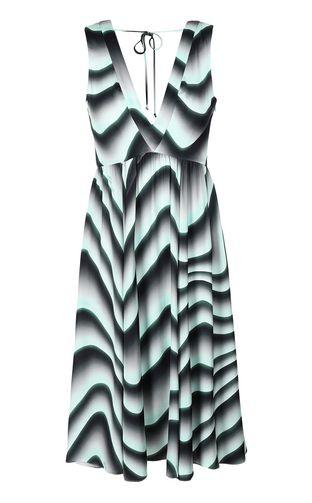 JUST CAVALLI Dress Woman Knitted dress with ruffles f