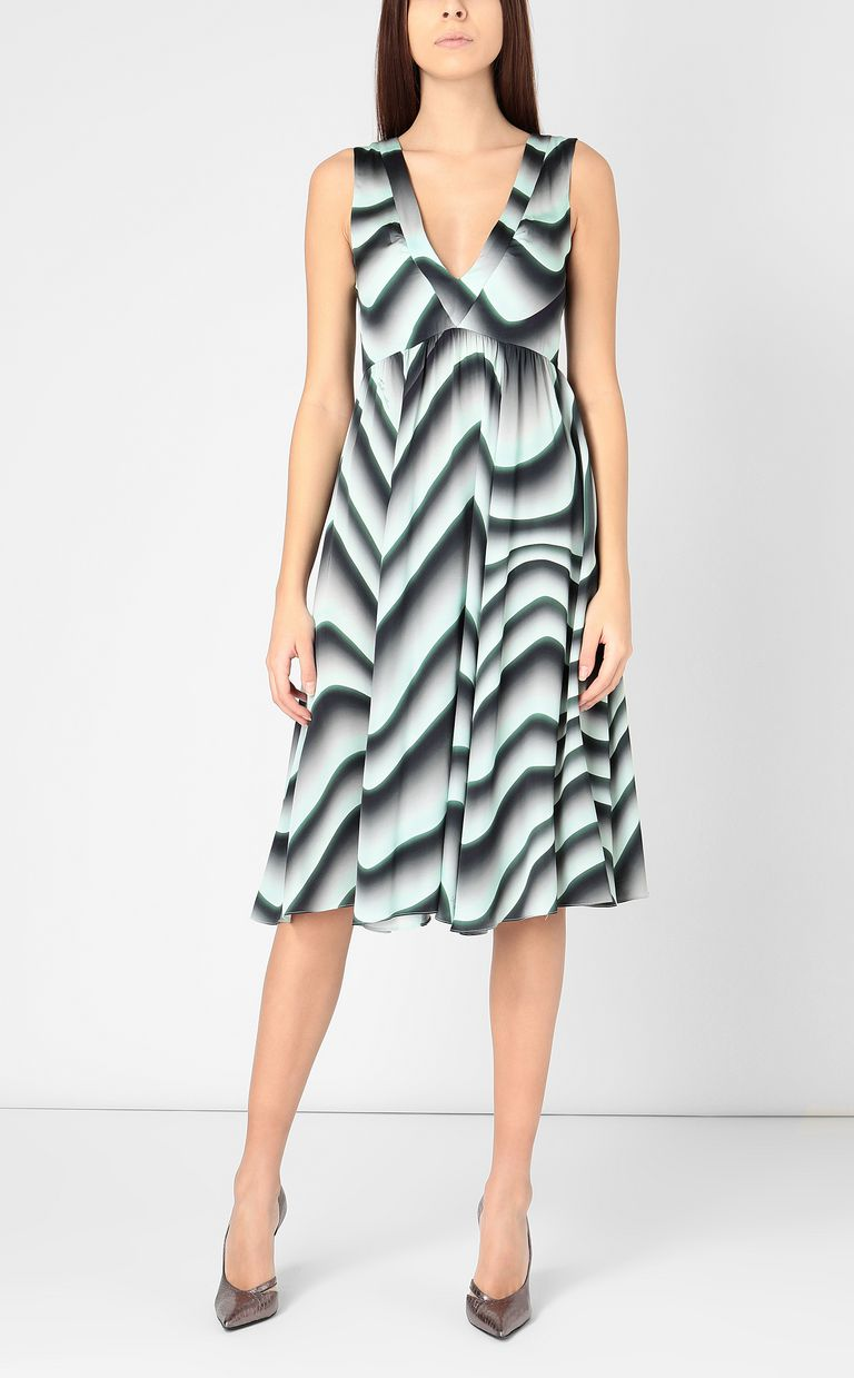 "JUST CAVALLI Midi dress with ""Sand"" print Dress Woman d"
