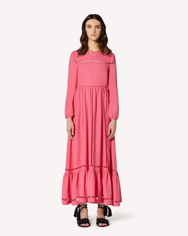REDValentino TR0VA12C51B CE7 Long and midi dresses Woman f