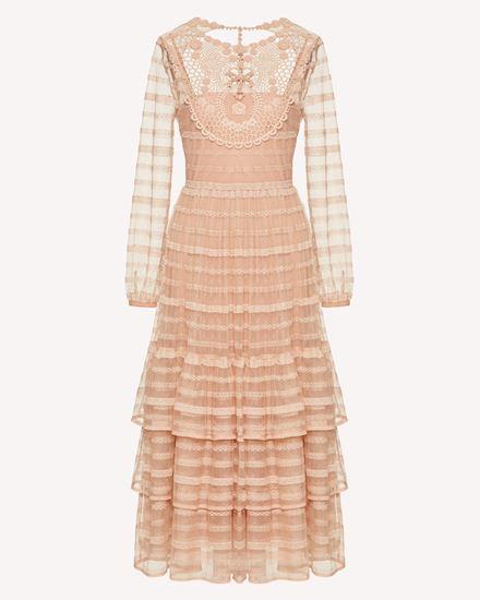 REDValentino Langes und mittellanges Kleid Dame TR0VA11N51D 377 a