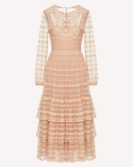 REDValentino Long and midi dresses Woman TR0VA11N51D 377 a