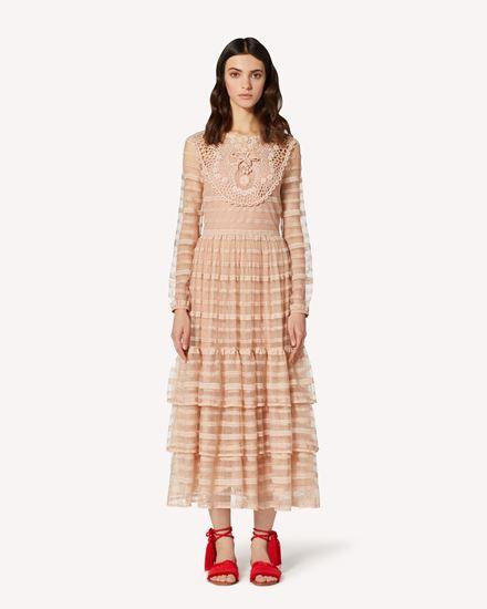 REDValentino Long and midi dresses Woman TR0VA11N51D 377 f